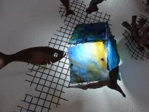 Detall, Mural fons marí
