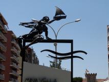 Escultura publica Font de Mina Vella.