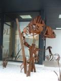 Conjunt escultòric Peix i Medusa.